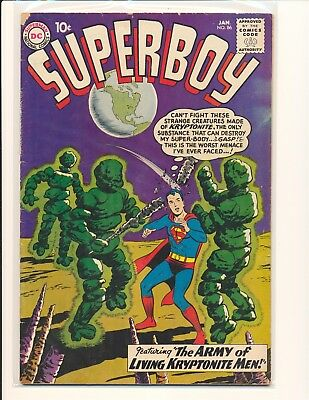 Superboy # 86 - 1st Pete Ross & 4th Legion G/VG Cond.