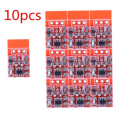For Arduino l X3P0 10 Pcs TTP223 Capacitive Touch Switch Button Self-Lock Module