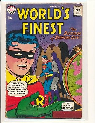 World's Finest Comics # 100 G/VG Cond.