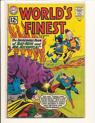 World's Finest Comics # 123 VG Cond. slight water damage