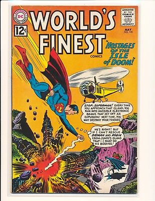 World's Finest Comics # 125 VG/Fine Cond.