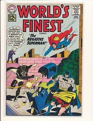 World's Finest Comics # 126 VG Cond. glue on cover