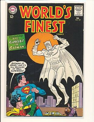 World's Finest Comics # 139 VG/Fine Cond.