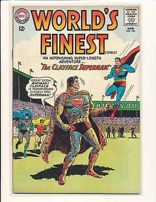 World's Finest Comics # 140 VG/Fine Cond.