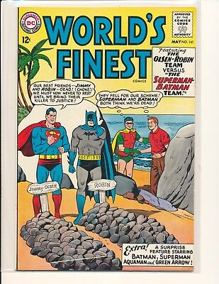 World's Finest Comics # 141 Fine+ Cond.