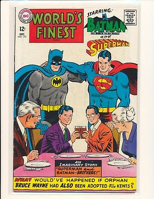 World's Finest Comics # 172 VG+ Cond.