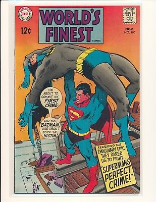 World's Finest Comics # 180 - Neal Adams cover Fine+ Cond.
