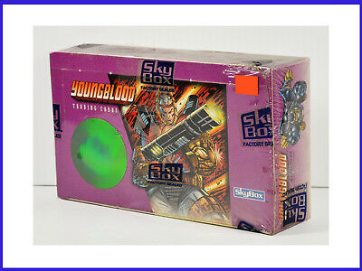 1995 Skybox Youngblood Collectible Trading Cards Factory Sealed Box