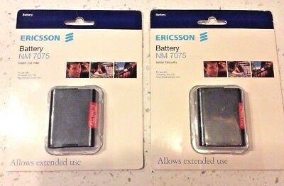 Ericsson Replacement Battery NM7075  New In Pkg  FREE SHIPPNG Lot of 2