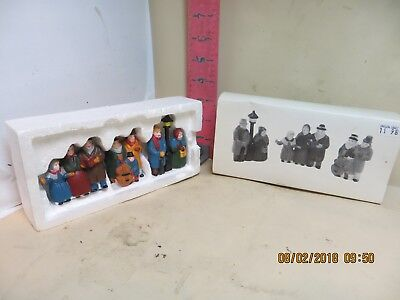 """Department 56 Heritage Village Collection """"carolers"""" ,number 6526-9 , New In Box"""