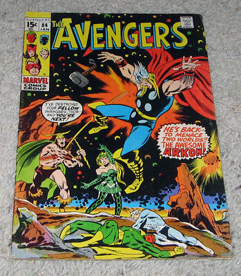 Avengers 84 Captain Marvel Thor Black Panther Giant Man Infinity Lot
