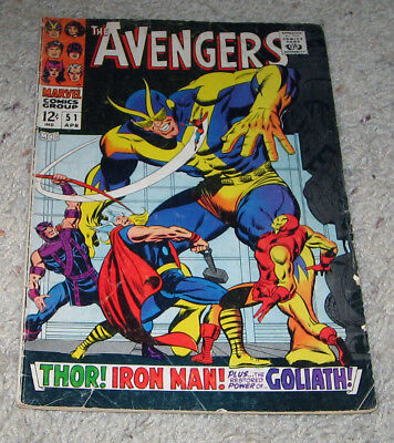 Avengers 51 Captain Marvel Thor Black Panther Giant Man Infinity Lot
