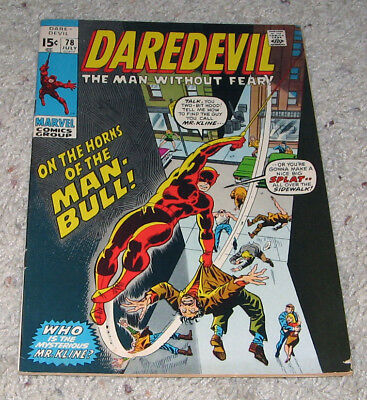 Daredevil 78 VF- Man Bull Black Widow NETFLIX Season 3  Lot
