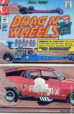 Drag N Wheels #59 1973 VG Stock Image Low Grade