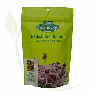 A.Vogel BioSnacky   Radish red rambo sprouting seeds