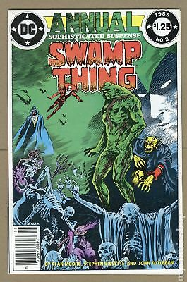 Swamp Thing (2nd Series) Annual #2 1985 FN 6.0