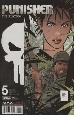 Punisher The Platoon (Marvel) #5 2018 VG Stock Image Low Grade