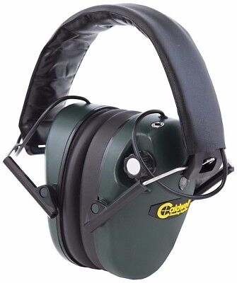 Caldwell 487-557 Green E-Max Low Profile Shooting Ear Protection Muffs