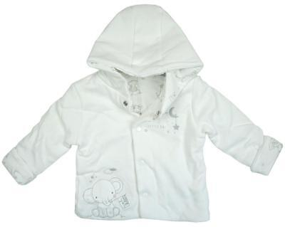 Baby My 1st Coat Dream Big Elephant Hooded Jacket Tiny Prem Newborn - 12 Months