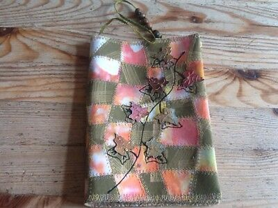 Handcrafted Fabric Book Cover