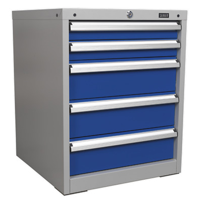 API5655A Sealey Cabinet Industrial 5 Drawer [Industrial Workstations]