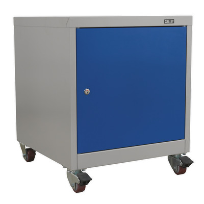 API5659 Sealey Mobile Industrial Cabinet 1 Shelf Locker