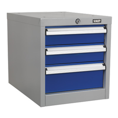 API16 Sealey Industrial Triple Drawer Unit for API Series Workbenches