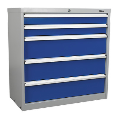 API9005 Sealey Industrial Cabinet 5 Drawer [Industrial Workstations]
