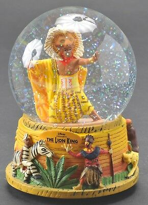 Disney The Lion King Broadway Play Musical Snowglobe Circle of Life