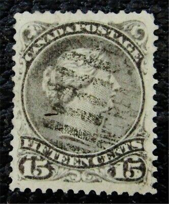 nystamps Canada Stamp # 30 Used UN$75 VF