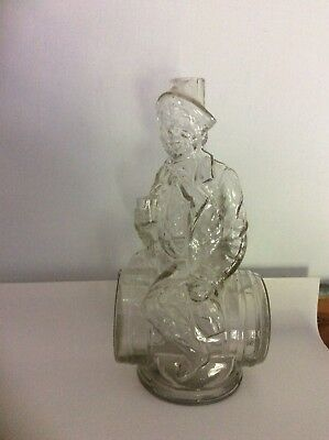 Nearly Mint Condition, Figure Of Man Drinking On Top Of Barrel.