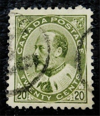 nystamps Canada Stamp # 94 Used UN$50 VF