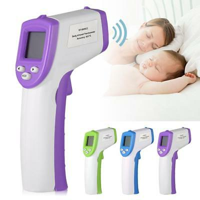 Non-Contact Body IR Infrared Digital Thermometer Instant Reading LCD Display GA