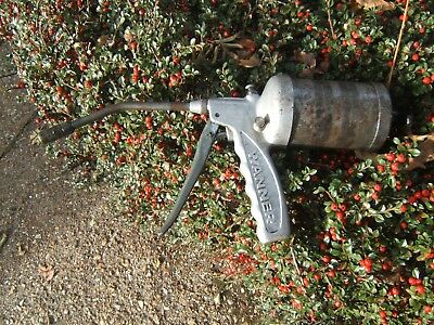 Wanner Vintage Swiss Grease Gun Large Capacity