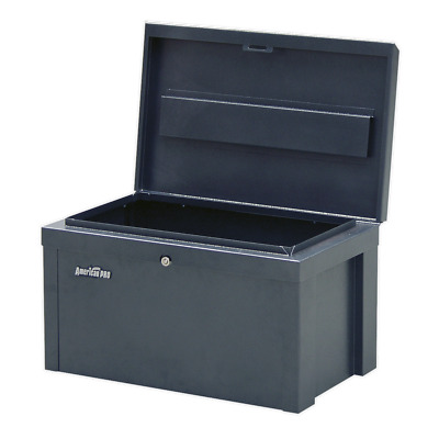 SB565 Sealey Steel Storage Chest 565 x 350 x 320mm [Truck & Site Boxes]