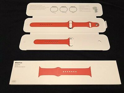 Apple Watch Sport Band Orange 42MM MLDK2ZM/A Stainless Steel Pin OEM