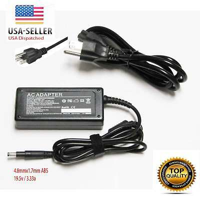 65W AC Adapter Charger for HP Envy 4-1115DX / i5-3317U Envy 6-1010US Ultrabook