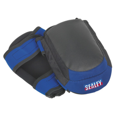 SSP63 Sealey Heavy-Duty Double Gel Knee Pads - Pair [Body Protection]