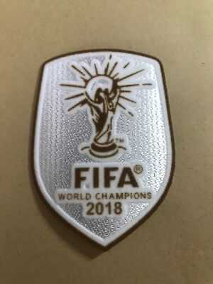 Brand NEW France 2018 World Cup Champions Winner Football Iron On Patch Badge