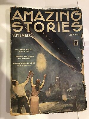 Amazing Stories Paperback. September 1934. Vol 9, No 5.