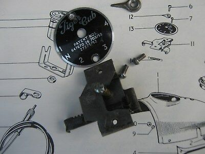 Triumph T20 Tiger Cub Original Gear Indicator Assembly  Nos