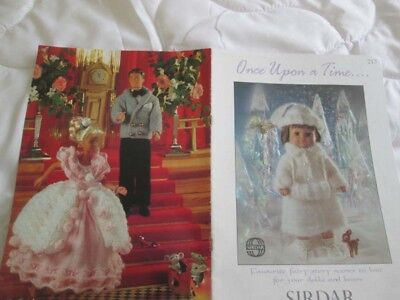 """Sirdar Knitting Pattern Book """"Once Upon A Time"""" Fairy Story Tale Dolls & Bears"""