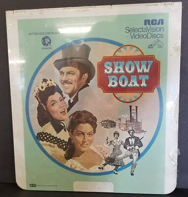 CED New Sealed RCA SelectaVision Videodisc VIDEO DISC SHOW BOAT