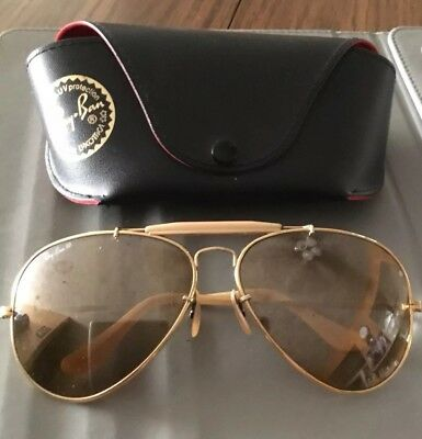 Rare pair of Ray Ban B&L 50th Anniversary The General USA  62mm Sunglasses