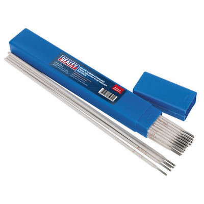 WESS1025 Sealey Welding Electrodes Stainless Steel Ø2.5 x 350mm 1kg Pack