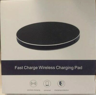 Walnut Wood Wireless Fast Charger Qi Wireless Charging Pad for Universal charge