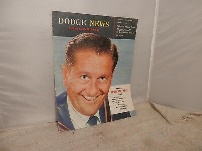 1957 Dodge News Magazine With Lawrence Welk And Tv Cast