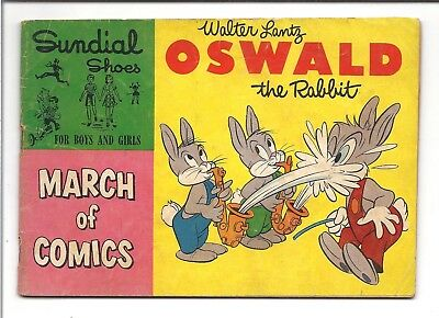 March of Comics Oswald the Rabbit (1953) Sundial Shoes
