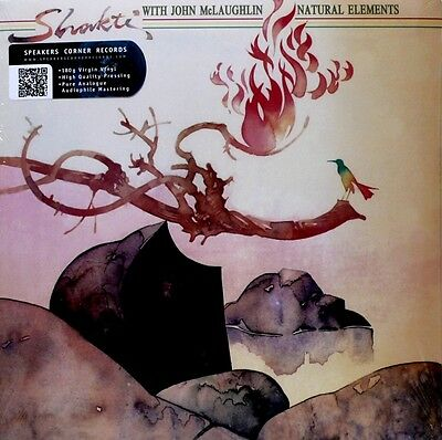 SHAKTI AND JOHN McLAUGHLIN - COLUMBIA - 34980 -  NATURAL ELEMENTS - 180 GRAMS