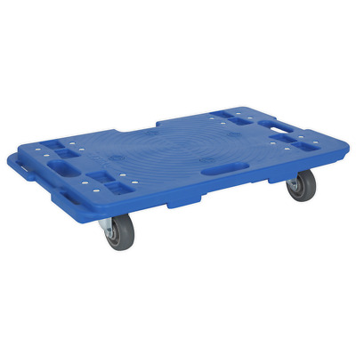 CM150 Sealey Interlocking Plastic Dolly 150kg Capacity [Load Handling]